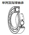 單列深溝球軸承
